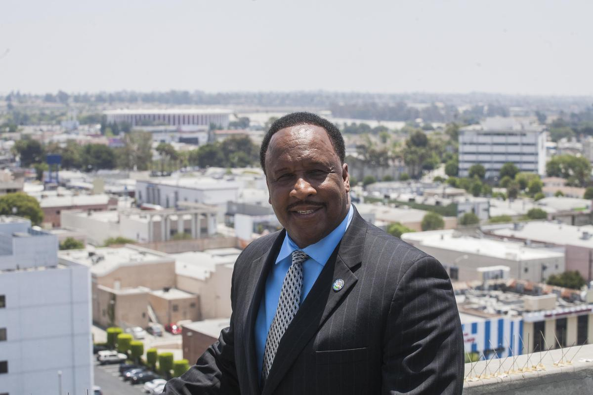 City of Inglewood Mayor James Butts will join the MTA board.